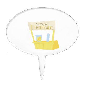 Worlds Best Lemonade Cake Topper