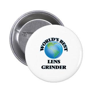 World's Best Lens Grinder Button
