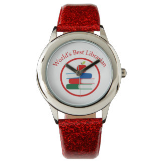 World's Best Librarian Tees and GIfts Watches