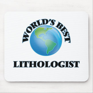 World's Best Lithologist Mouse Pads