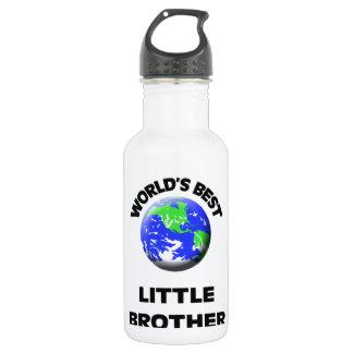 World's Best Little Brother 18oz Water Bottle