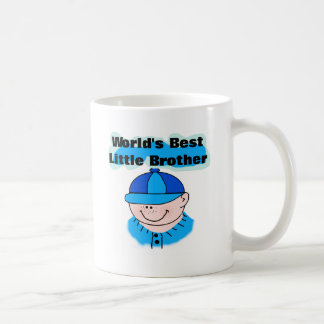 World's Best Little Brother Tshirts and Gifts Classic White Coffee Mug