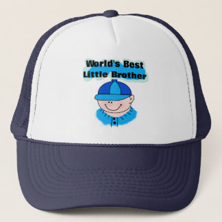 World's Best Little Brother Tshirts and Gifts Trucker Hat