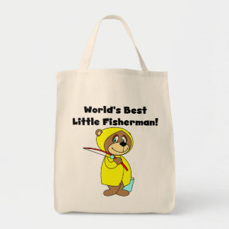 World's Best Little Fisherman Tshirts and Gifts Bags