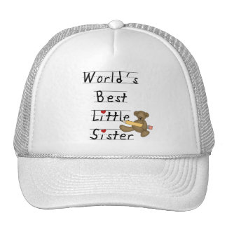 World's Best Little Sister Tshirts and Gifts Trucker Hat
