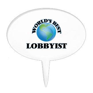 World's Best Lobbyist Cake Topper