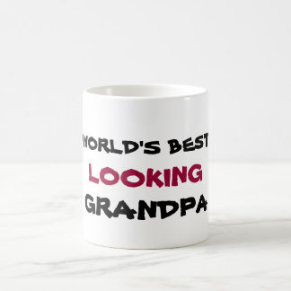 World's best looking grandpa coffee mug