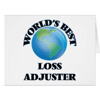 World's Best Loss Adjuster Cards