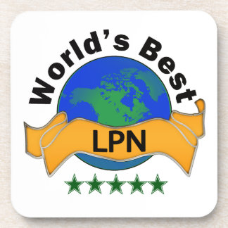 World's Best LPN Beverage Coaster