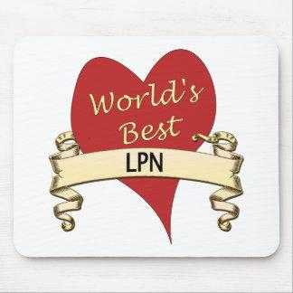 World's Best LPN Mouse Pad
