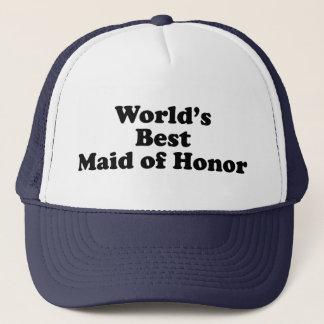World's Best Maid of Honor Trucker Hat