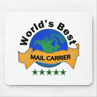 World's Best Mail Carrier Mouse Pad