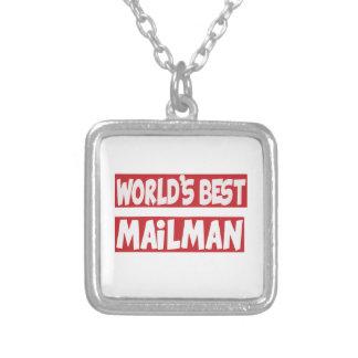 World's Best Mailman. Pendant