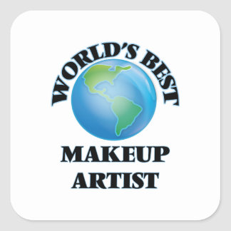 World's Best Makeup Artist Square Sticker