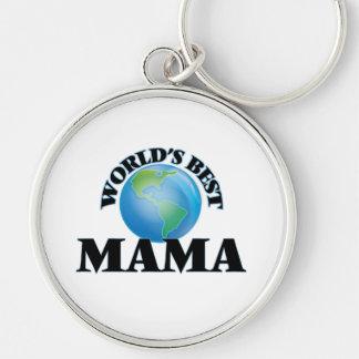 World's Best Mama Key Chains