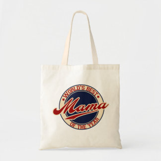 World's Best Mama of the Year Tote Bag