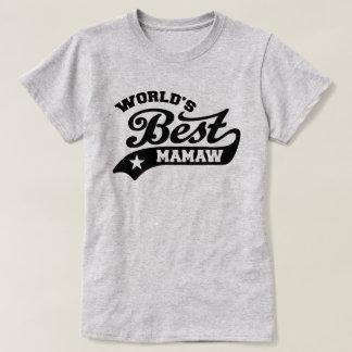 World's Best MaMaw T-Shirt