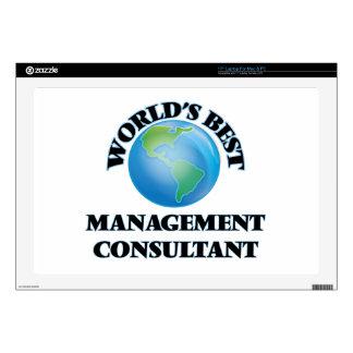 World's Best Management Consultant Laptop Skin