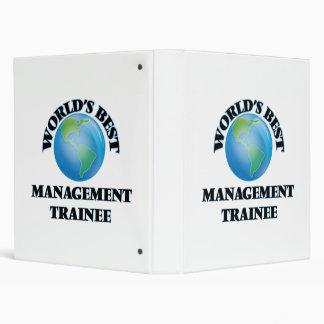 World's Best Management Trainee 3 Ring Binder