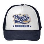 Worlds Best Manager Hat