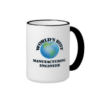 World's Best Manufacturing Engineer Ringer Coffee Mug