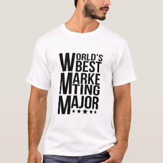 World's Best Marketing Major T-Shirt