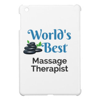 World's Best massage therapist Cover For The iPad Mini