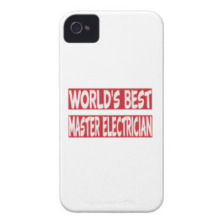World's Best Master Electrician. Case-Mate iPhone 4 Case
