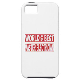 World's Best Master Electrician. iPhone 5 Cover