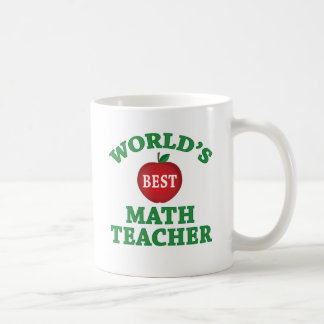 World's Best Math Teacher Coffee Mug