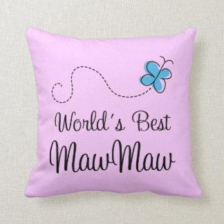 Worlds Best MawMaw Pillow