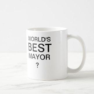 WORLD'S BEST MAYOR Coffee Mug