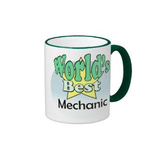 World's best Mechanic Ringer Mug