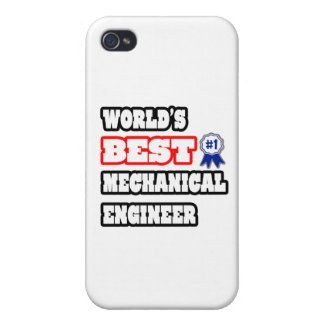 World's Best Mechanical Engineer iPhone 4 Cases