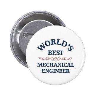 World's best Mechanical Engineer Pinback Button