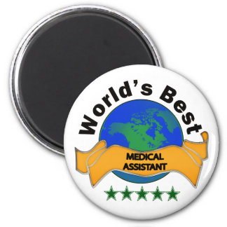World's Best Medical Assistant 2 Inch Round Magnet
