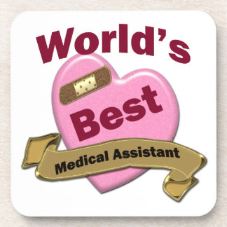 World's Best Medical Assistant Coasters