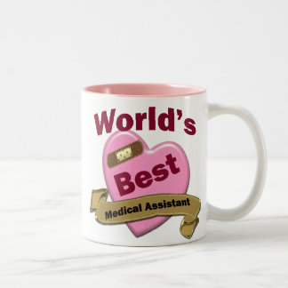 World's Best Medical Assistant Two-Tone Coffee Mug