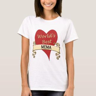 World's Best Mema T-Shirt