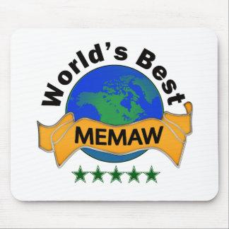 World's Best Memaw Mouse Pad
