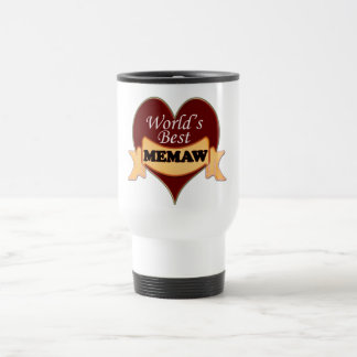 World's Best Memaw Travel Mug