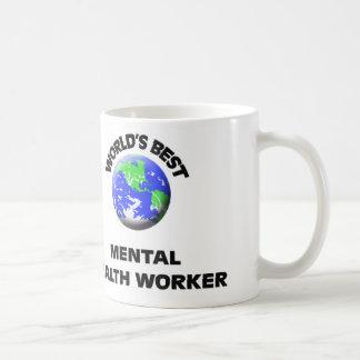 World's Best Mental Health Worker Coffee Mug