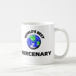 World's Best Mercenary Classic White Coffee Mug