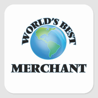 World's Best Merchant Square Sticker