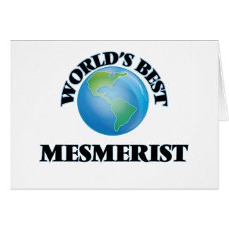 World's Best Mesmerist Greeting Cards