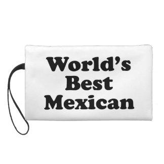 World's Best Mexican Wristlet Purse