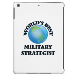 World's Best Military Strategist iPad Air Cover