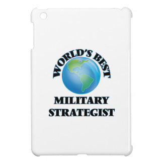 World's Best Military Strategist iPad Mini Cases