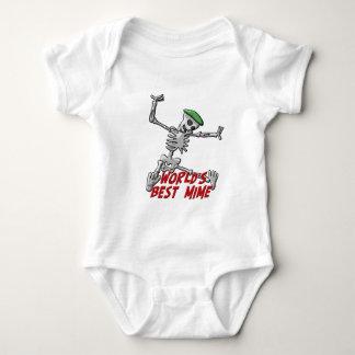 World's Best Mime Infant Creeper