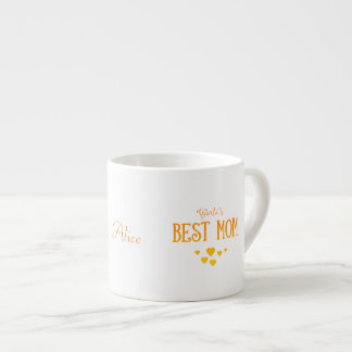 World's Best Mom | Adorable Gift Espresso Cup